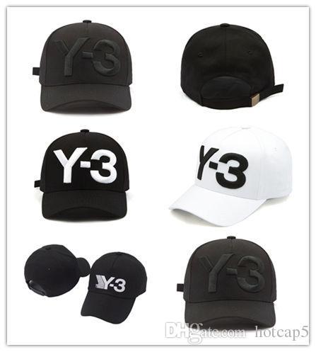 1f5f4c0b Y 3 Dad Hat Big Bold Embroidered Logo Baseball Caps Adjustable Strapback  Hats Y3 Bone Snapback Sports Casquette Visor Gorras Custom Baseball Hats  Army Hats ...