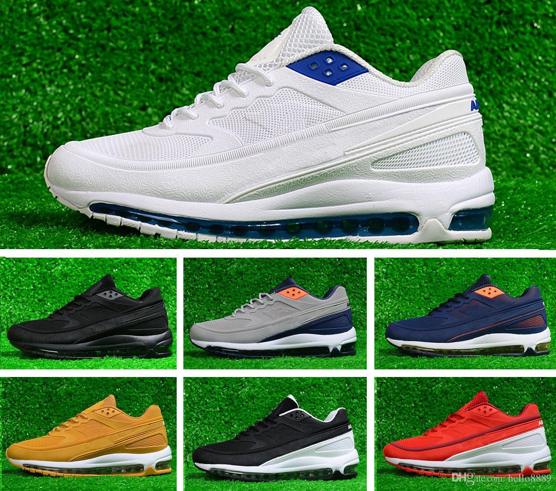 77eeb562a8 2018 Nano New OG 97 BW X Skepta KPU Sports Running Shoes Air Sole ...