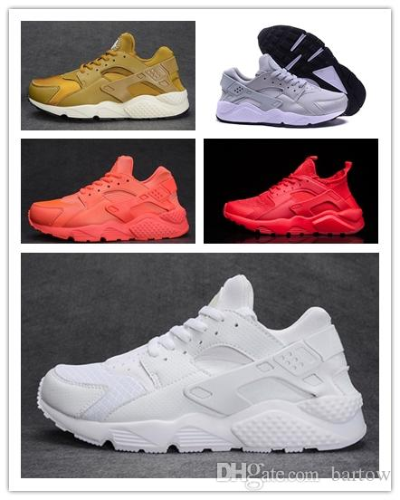 2018 Cheap Air Huarache 1 2 II Ultra Classical All White Black Huaraches  Shoes Men Women Sneakers Running Shoes Size 36 45 Online Sale Best Running  Shoes ... e790f46be