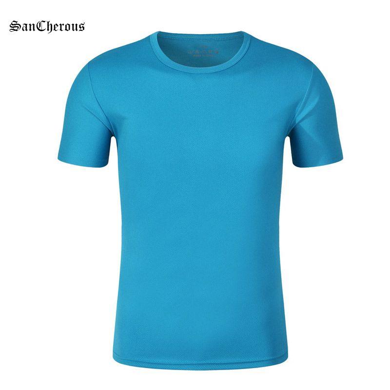 78fd6e2c27d3 Summer Quick Dry Women Men Short S T Shirt Outdoor Sports Breathable ...