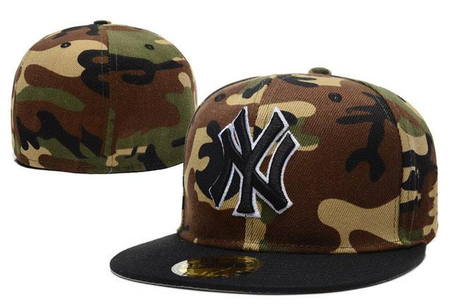 Wholesale Cheap Price Full Camo Color Letter NY Fitted Hats Men S In  Baseball Caps Hip Hop Ny Cap For Sale 59fifty Snapback Cap From Lzx6626 230b1576a4b