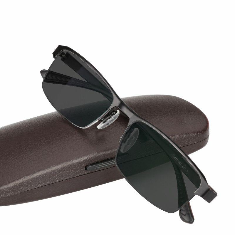 b89985dc50 Compre Gafas De Sol De Aleación De Titanio Gafas De Lectura Fotocromáticas  De Transición Para Hombres Presbyopia De Hipermetropía Con Dioptrías Gafas  De ...