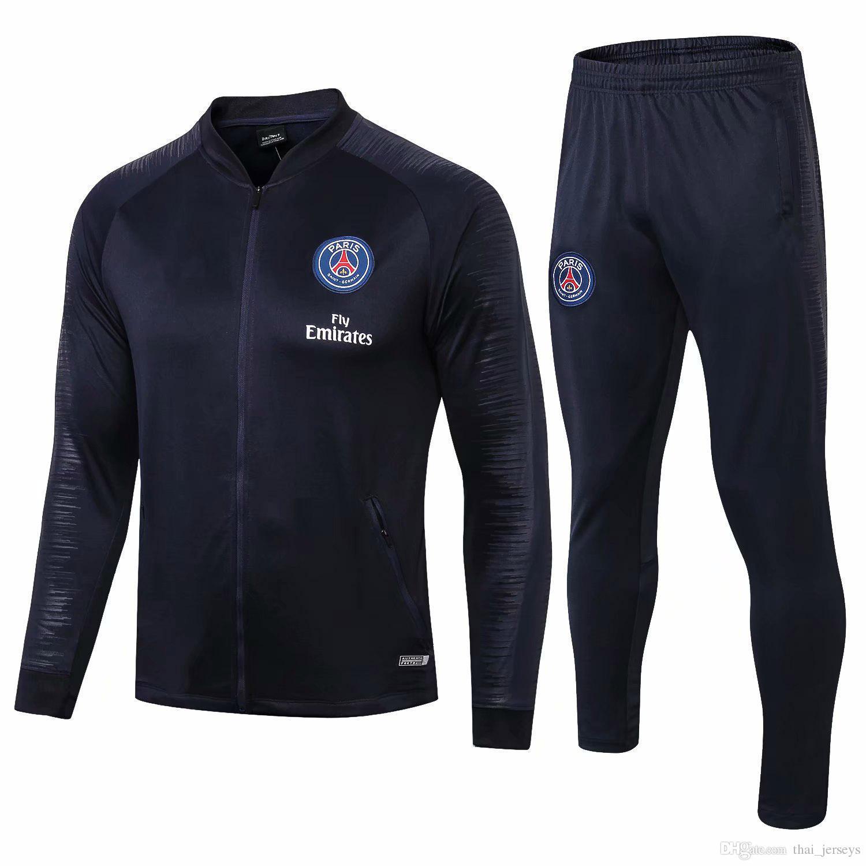 dd51620d7 Jordam X PSG Jacket Suit Champions League Survetement 18 19 PSG ...