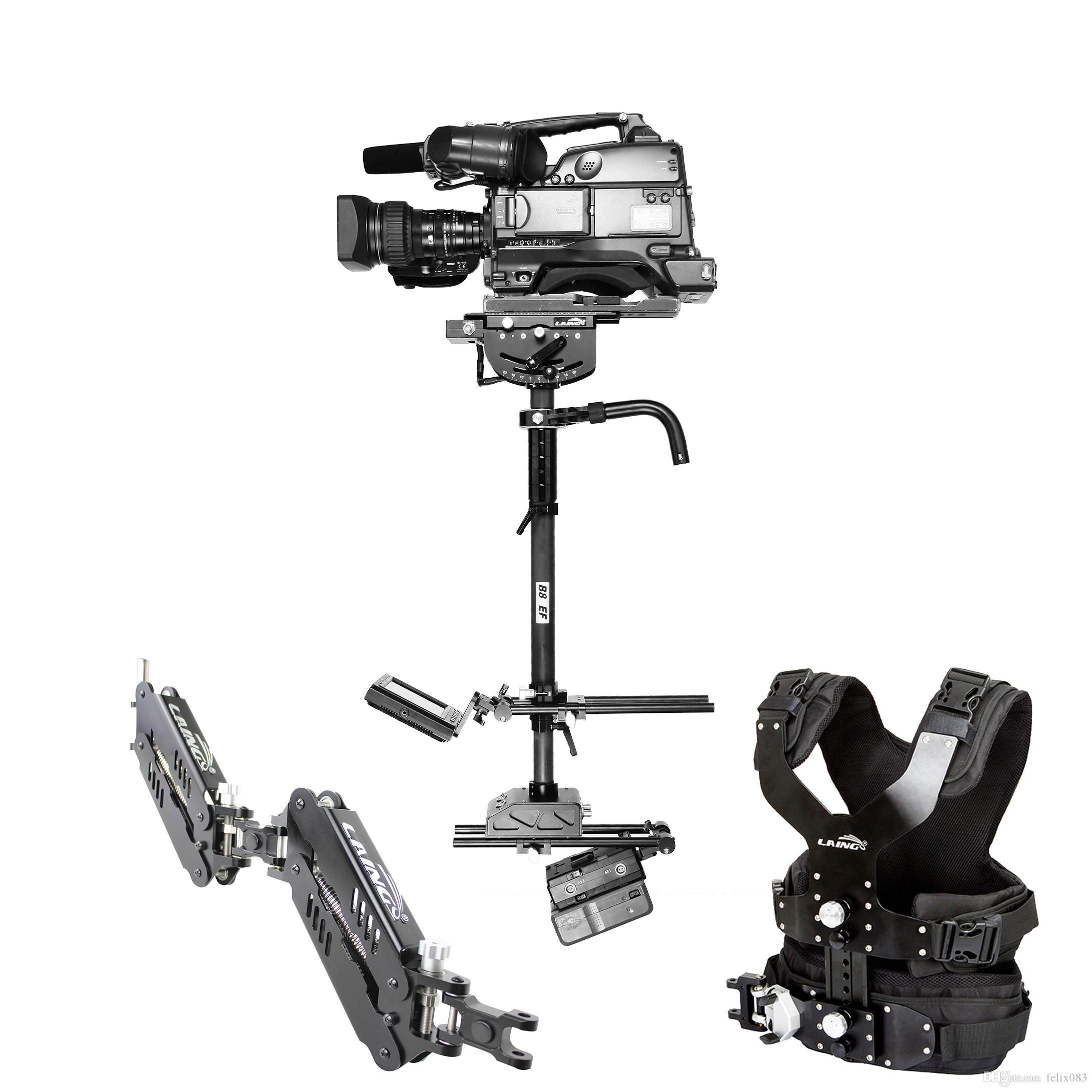 Free Shipping for M35II EF 16kg Carbon Fiber Professional Video Camera Steadicam Stabilizer Steadycam photography Vest Dual Support Arm