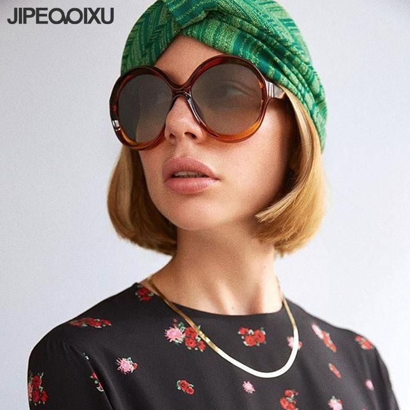 9761f26a0a99 JIPEMIXU Fashion Round Sunglasses Men Women Gradient Sun Glasses ...