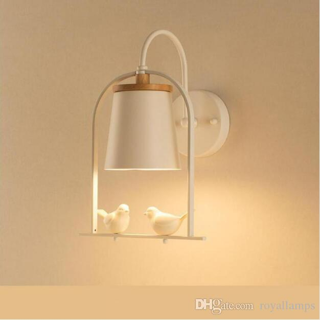2019 SVITZ Nordic Children Bedroom Lamp White/Black Modern Simple ...