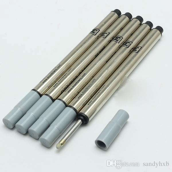 5 Pçs / lote MB Caneta Recarga haste cartucho especial para a série M Rollerball caneta de recarga de tinta preta de Escritório papelaria