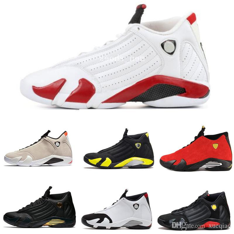 Mens Basketball Shoes 14 Red Yellow Thunder Green White Black Cool Grey Men  Women Sneakers 14s Sport Shoes US Size 8 13 Cheap Basketball Shoes Boys ... 1d19e08216b1