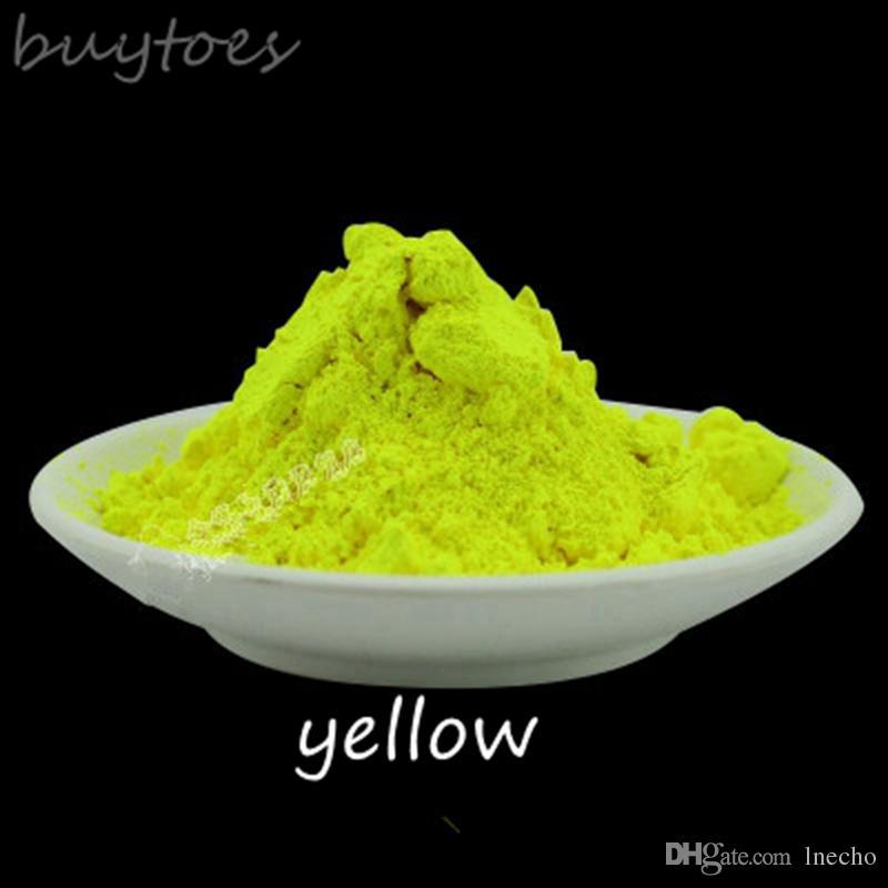 Compre Polvo Fluorescente Amarillo Limón 500g / Polvo De Pigmento De ...