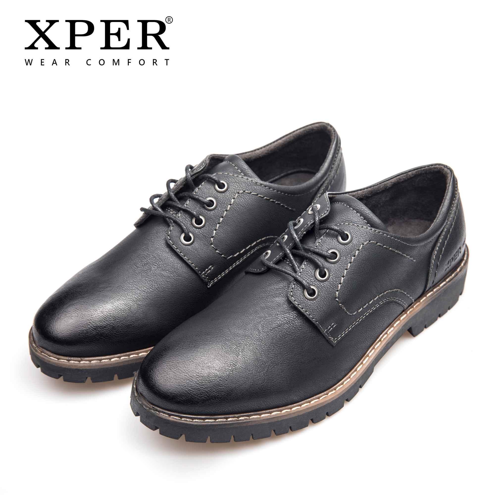 360d9b080e706 Acquista XPER Marca Moda Uomo Abito Scarpe In Pelle Lace Up Oxford Uomini  Formale Nero Calzature Business Autunno Scarpe Casual   XHY11201BL   BR A   70.49 ...