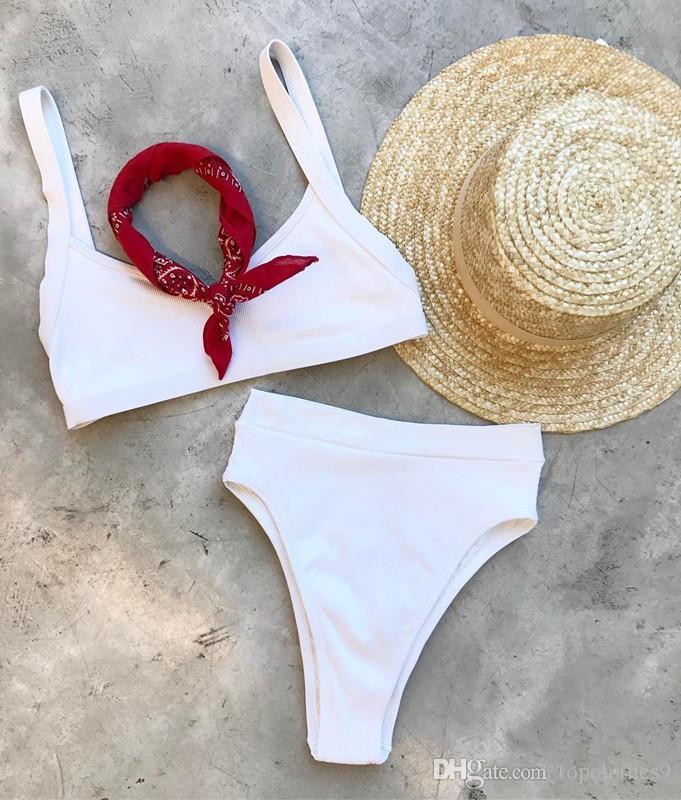82848f760 Summer African Print Two-Pieces Bath Suits Bikini Set Sexy Geometric ...