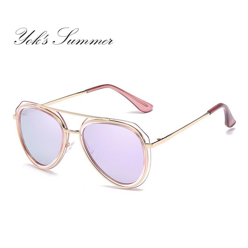 75d44857b67 Yok s Cat Eye Polarized Sunglasses Women Alloy Plastic Frame ...