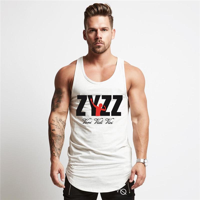 64d37b4405 Compre 2018 Nova Zyzz Roupas De Fitness Musculação Homens Regatas Gyms  Golds Treino Desgaste Vest Stringer Sportswear Undershirt Muscular De Ppkk