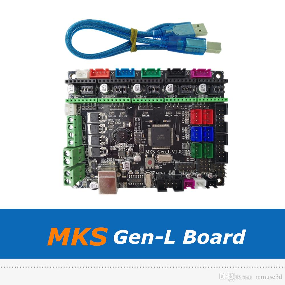 3D Printer Board MKS Gen L V1 0 Integrated Controller Motherboard  Compatible With A4988/DRV8825/LV8729/TMC2100/TMC2208 Driver