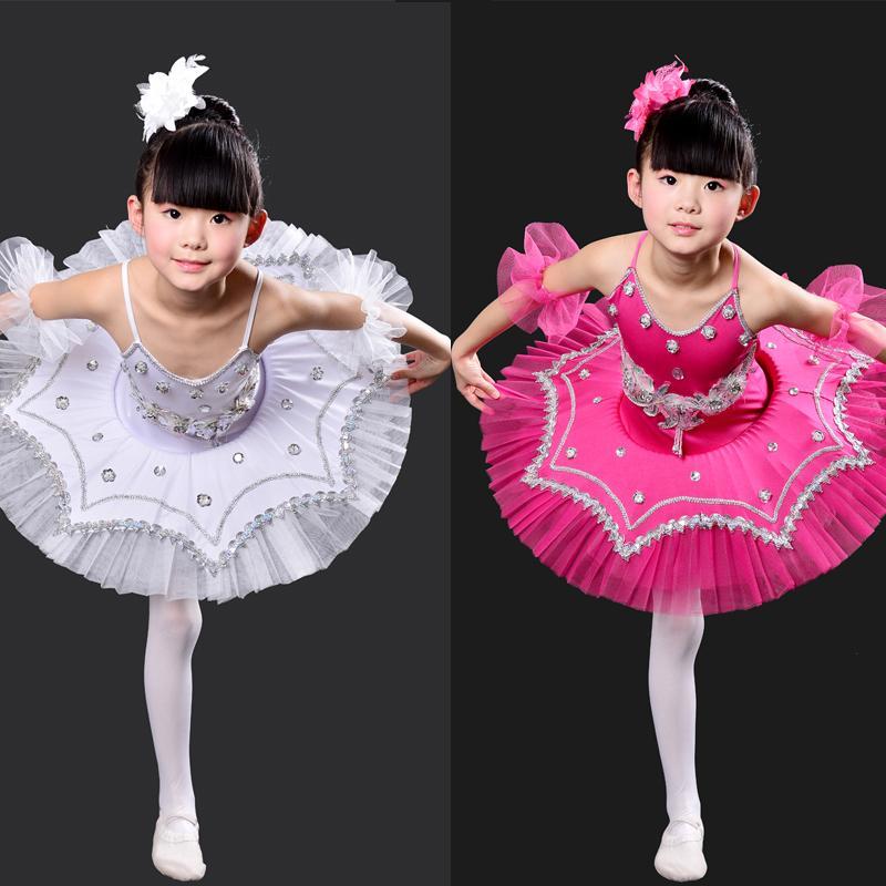 562b74f6a6 Compre Crianças Negras Profissional Swan Lake Tutu Dance Dress Crianças Vestido  De Dança Ballet Stage Trajes Crianças Menina Ballet De Cute08, ...