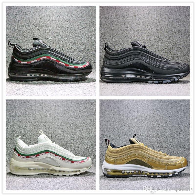 sneakers for cheap c9e3b 29bf3 Compre Zapatos De Moda Para Hombre 2018 Zapatos Deportivos De Estilo Nuevo  Zapatos Para Correr De Calidad Superior 97 Para Hombres Y Mujeres  Zapatillas De ...