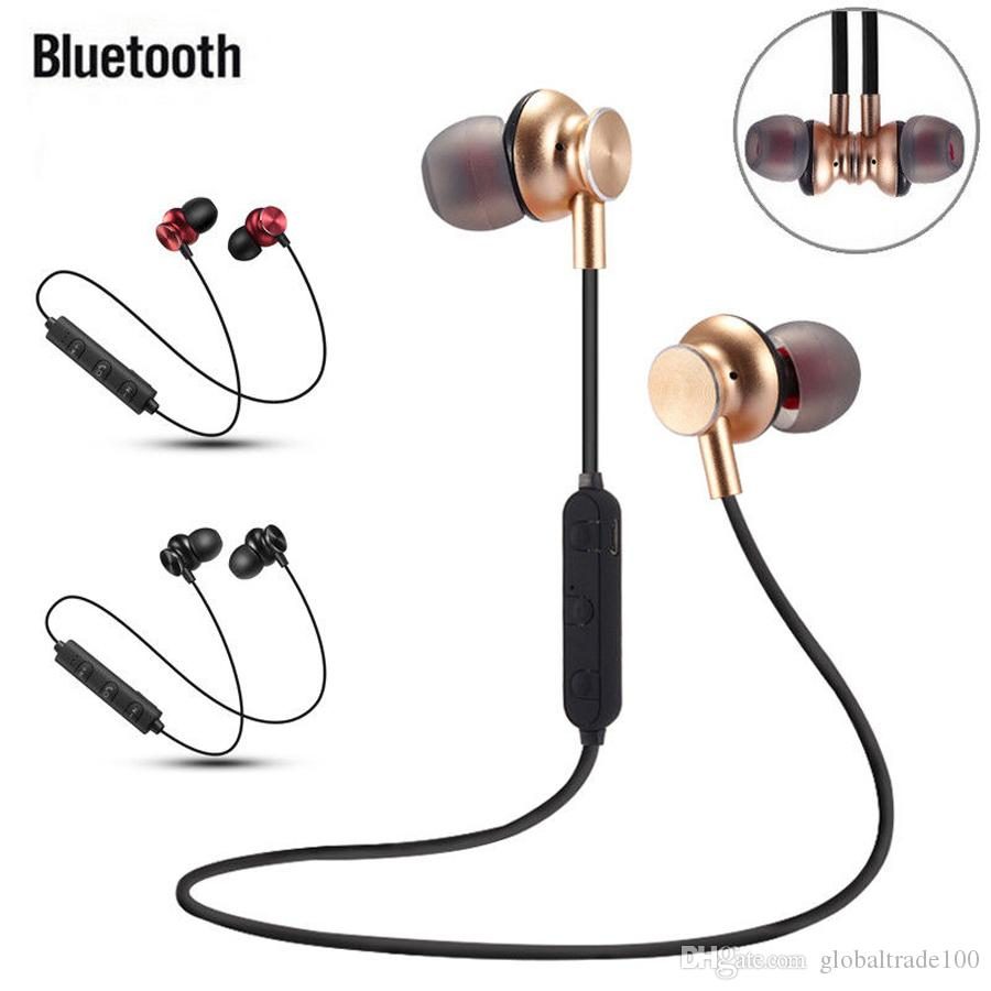 d680ae288a8 NEW M6 Wireless Earphones Bluetooth V4.1 Headset In Ear Stereo Sports Neckband  Headphones With Mic For Apple IPhone Samsung S9 Earphones For Phones Headset  ...