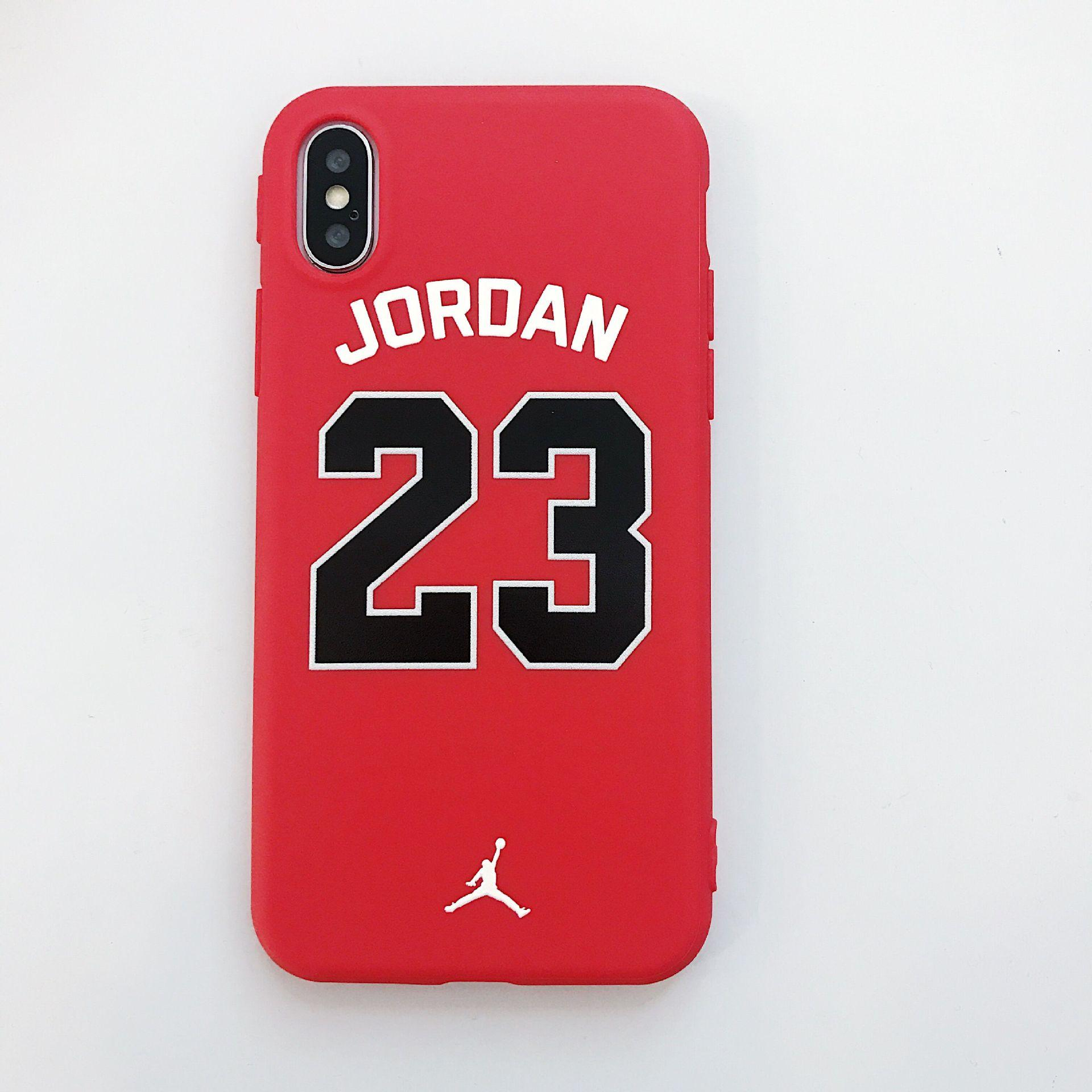 c43b64edeebe5 2019 Jersey Designer Phone Case For IPhone X 6 6S 6plus 7 8 7plus 8plus  High Street Style Hip Hop Brand Case Cover Phone Case With Rope Protective  Cell ...