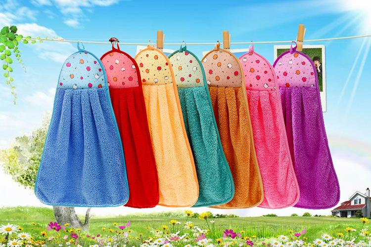 Excellent Absorbent Coral Fleece Hand Towel Hanging Microfiber Kitchen Hand  Towels Wholesale Towels Baby Bath Towels From Glenae, $24.79  Dhgate.Com