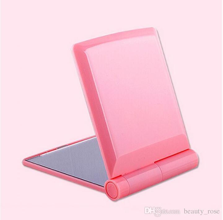 Mais Populares Bolso LED maquiagem HD espelho com 8 luzes LED e Tela de Toque inteligente escurecimento DHL frete grátis