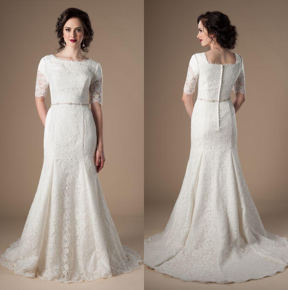 b342bea4e88 Cheap White Vintage Gothic Wedding Dress Discount Classic Line Wedding  Dresses