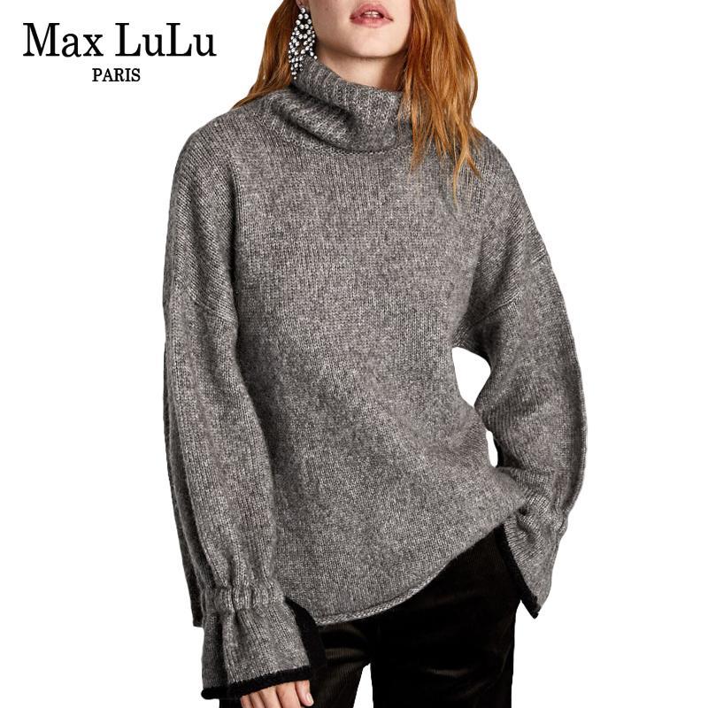 Luxury 2018 Pullover Donne Coreano Inverno Moda Max Acquista Donna waEzfvqv