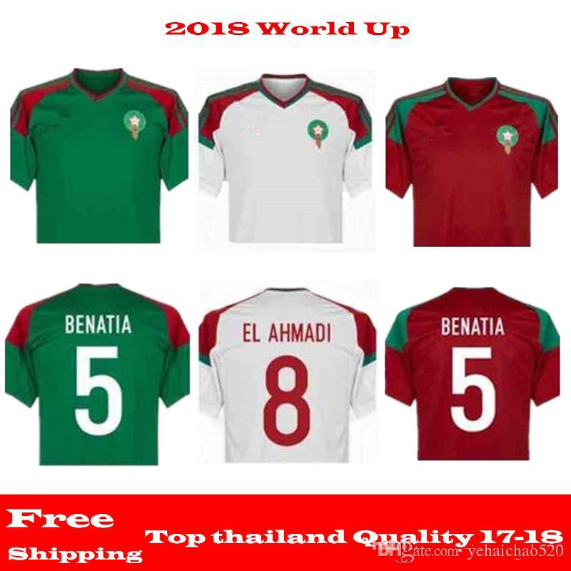 3789dcbfc 2019 Morocco 2018 World Cup Kit Soccer Jerseys Football T Shirt Ready For  Sale! The Final Version Is Based On The Formal Version From Yehaichao520