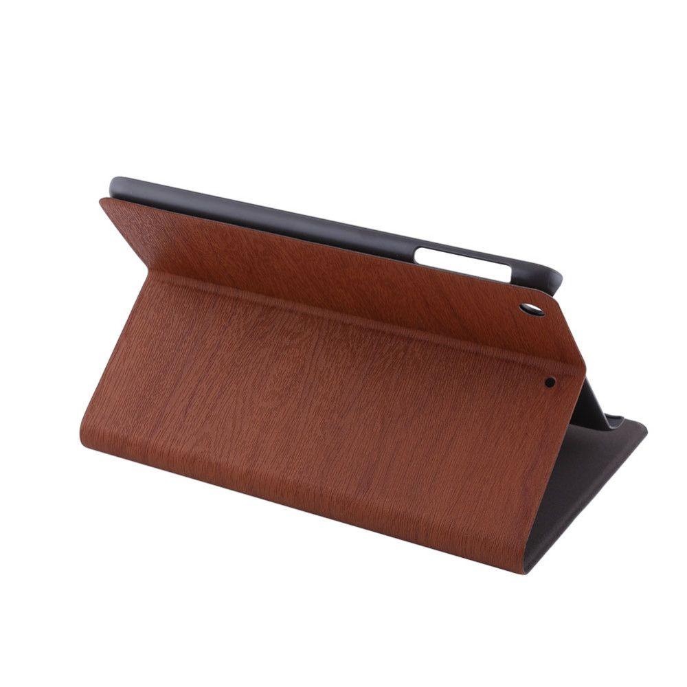 Cubierta elegante de la caja del soporte del cuero de la PU con la función auto del sueño / de la estela para el ipad mini 1/2/3/4