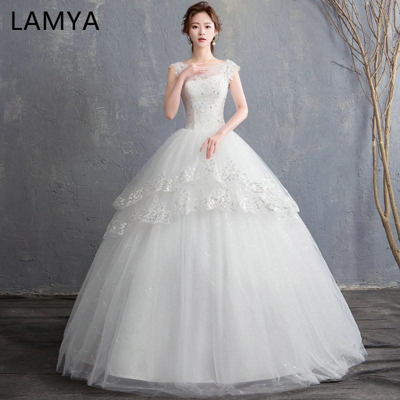 Wholesale Custom Made Princess Backless Wedding Dress 2018 New ...