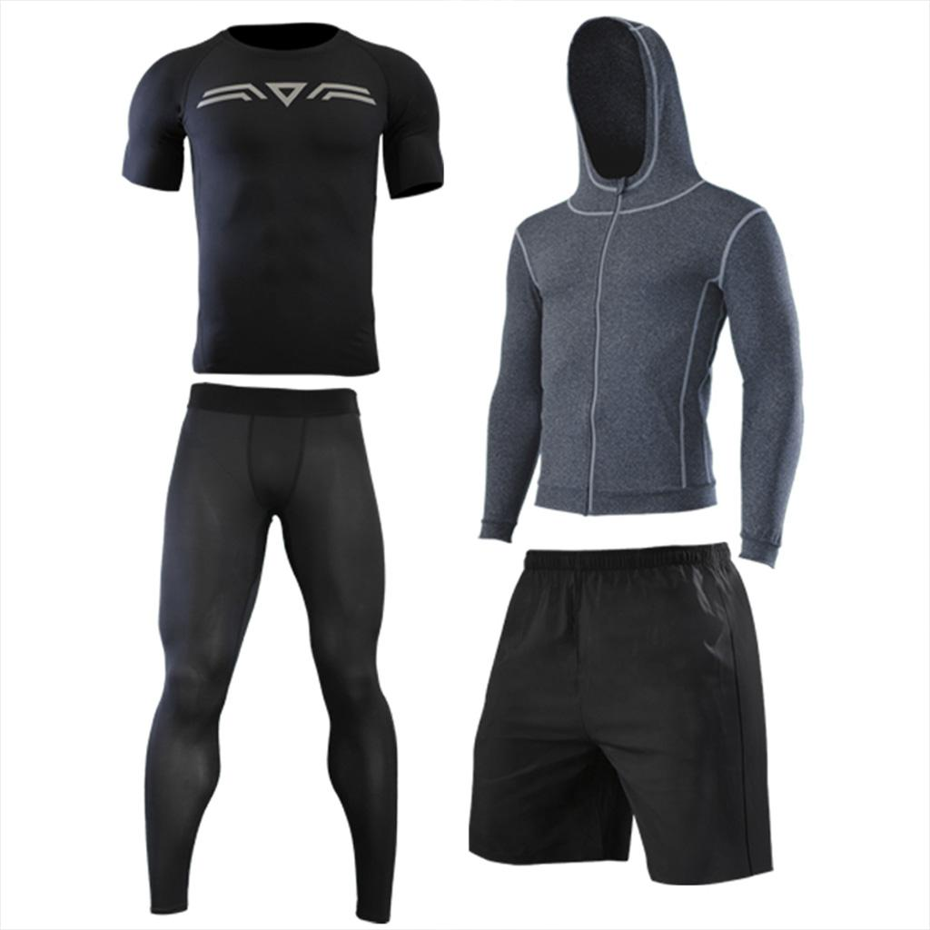 0e94e485c2781 2019 Set For Sprotswear Men Running Shirts Fitness Jacket Workout Active  Wear Mens Gym Shorts Breathable Pants Athletic Leggings From Peachguo, ...