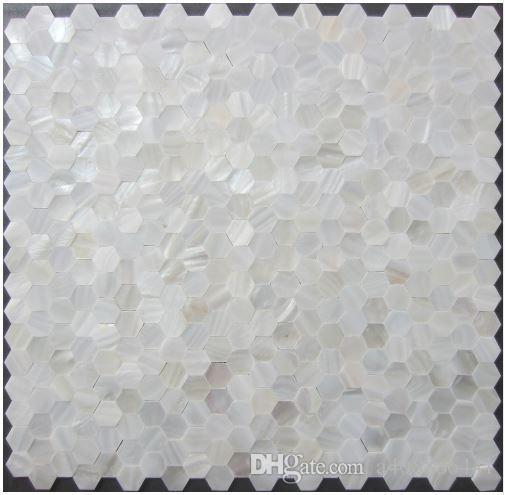 Grosshandel Fabrik Heisser Verkauf Shell Mosaik Fliesen Perlmutt