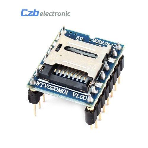 WTV020 WTV020-SD WTV020SD-20SS Mini SD Card MP3 Sound Module voice module  For Arduino 2560 UNO R3 WTV020-SD-16P