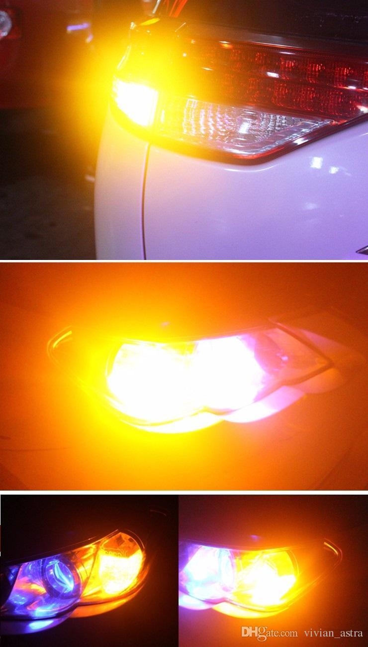 2 STÜCKE T20 7440 W21W WY21W 33smd 5730 5630 LED Auto Gelb Bernstein Blinkerbirne Rot bremslicht Weiß Auto Rückfahrleuchten