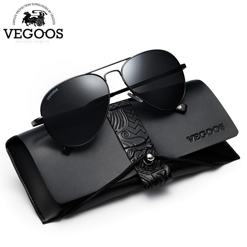 22ca339284 VEGOOS Sunglasses Men Polarized UV400 Protection Aviation Sun Glasses For  Male Pilot Sunglasses Oculos De Sol Masculino 2018 New D18101302 Sunglases  Cheap ...