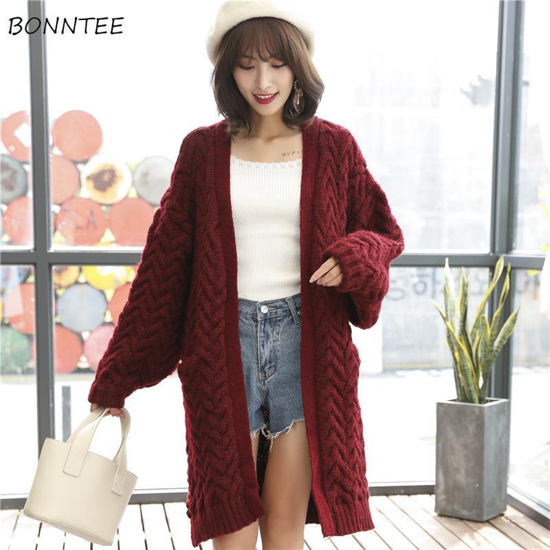 купить оптом свитера женщины теряют сладкий модный вязаный толстый