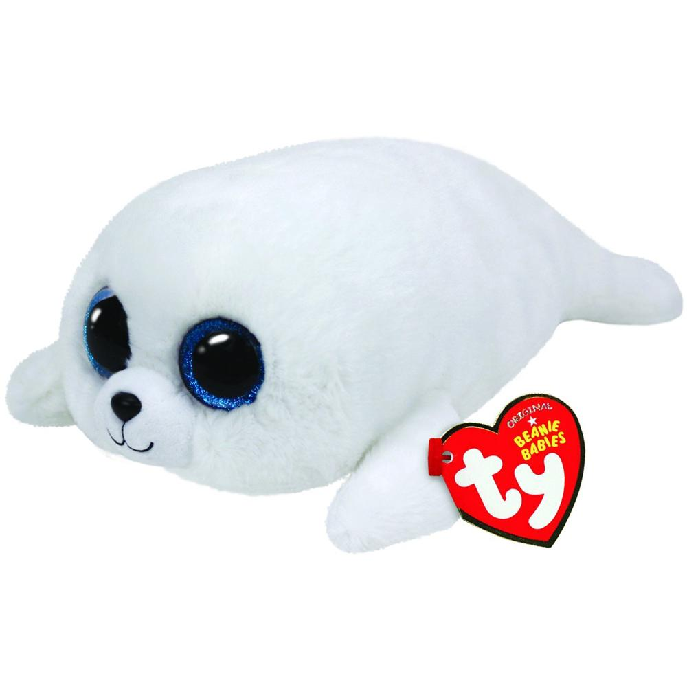 db743adcd44 2019 Pyoopeo Original Ty Beanie Boos 10 25cm Icy The White Seal Plush  Medium Soft Stuffed Animal Collectible Doll Toy With Heart Tag From  Paradise02