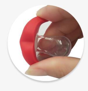 Bonito engraçado manequins chupeta novidade do bebê maternidade criança criança dentição mamilos engraçado lip chupetas