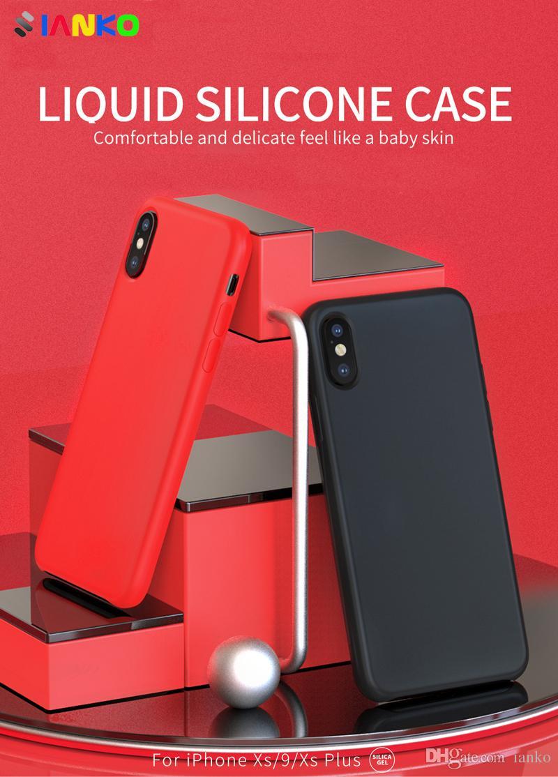 liquid silicone iphone xs case