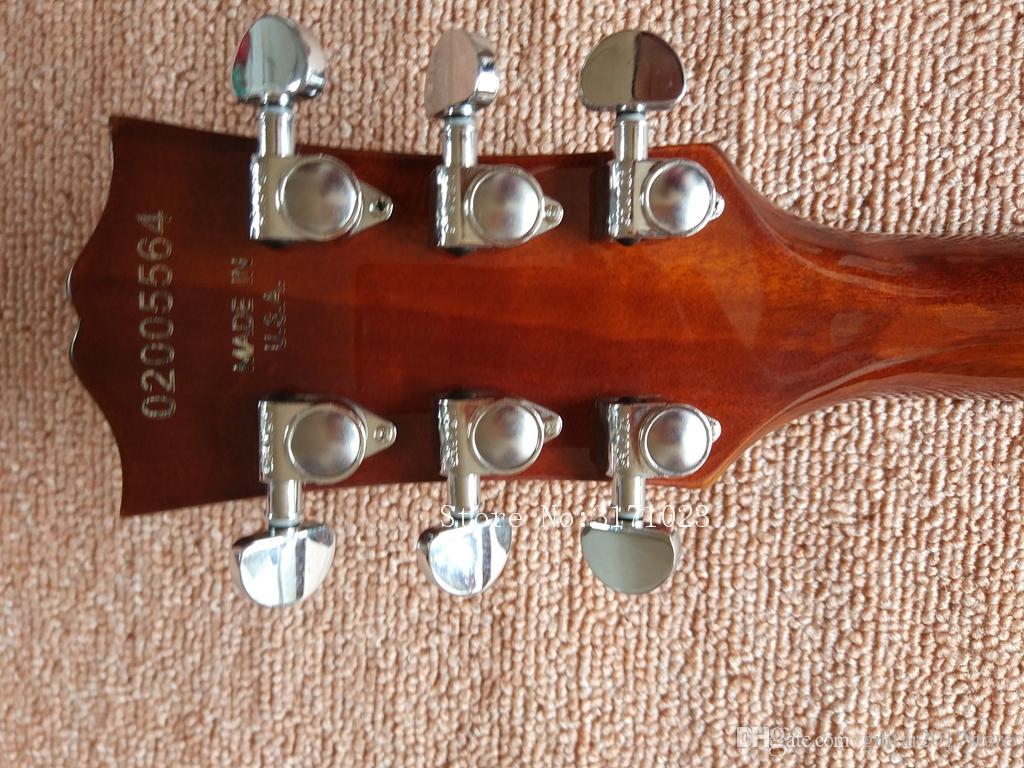 Custom Shop Classic Brown Semi Hollow 335 Jazz Chitarre Chitarre all'ingrosso