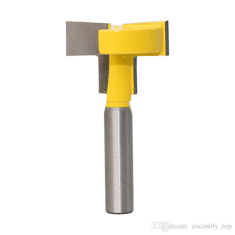 Woodworking DIY Tools 8mm Shank T-Slot Cutter Router Bit