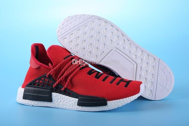 87c655e18 2018 93 Brazil Olympic Runner HumanRace Pharrell S Williams Fashion Running  Shoes Top Human Race Pharrell X Sports Sneakers Comfort Shoes Sneakers  Online ...