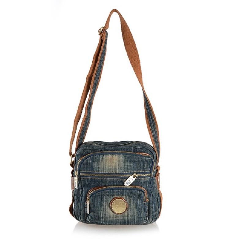 Vintage Fashion Denim Jeans Flap Men Bags Girls Handbags Crossbody Bag  Women Messenger Bags Purse Bolsa Feminina Bolsos Mujer Wholesale Purses  Designer ... c70c0836228f4