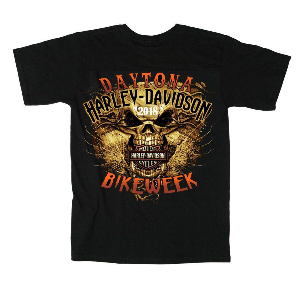 großhandel neue harley davidson t shirts große biker für männer bike