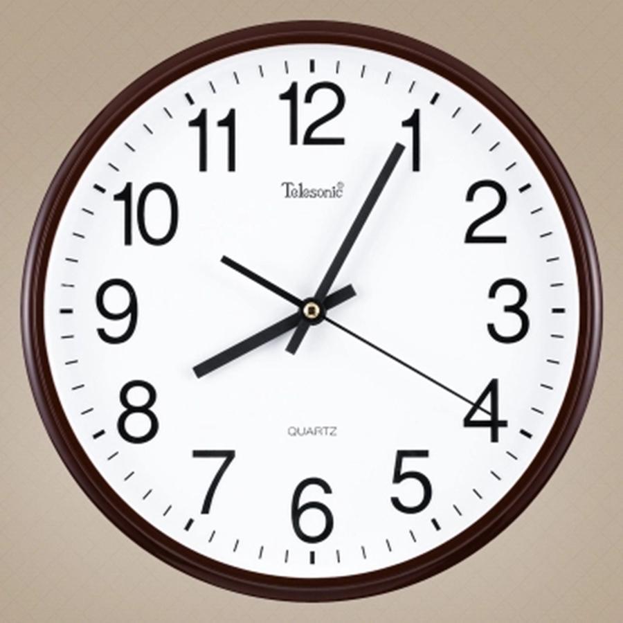 Large Decorative Wall Clocks Home Decor Self Adhesive Silent Digital
