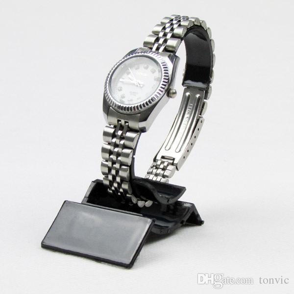 Großhandel 20 schwarz / klar Kunststoff Uhr Display Stand Halter