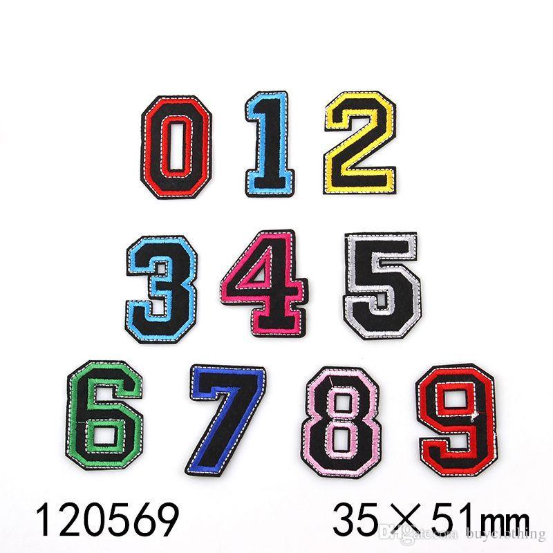 stickte Eisen auf Patches für Kleidung Nähen Anzahl Kleidung DIY Motivapplikationen Aufkleber für Kleidung Abzeichen