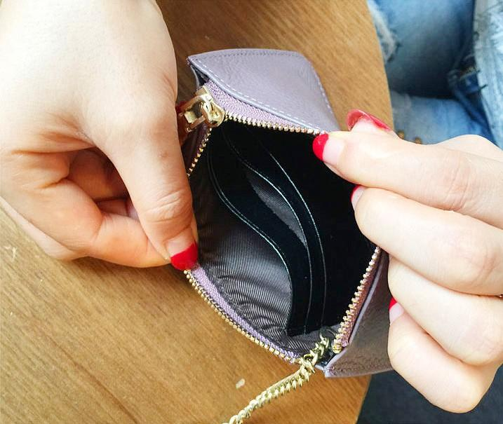 2019 Damen Brieftasche Rechteck Echtes Leder Damen Brieftasche Null Geldbörse Kleine Scheckheft Brieftaschen Kartentasche Honigbiene Kurze Kreditkarte W00124