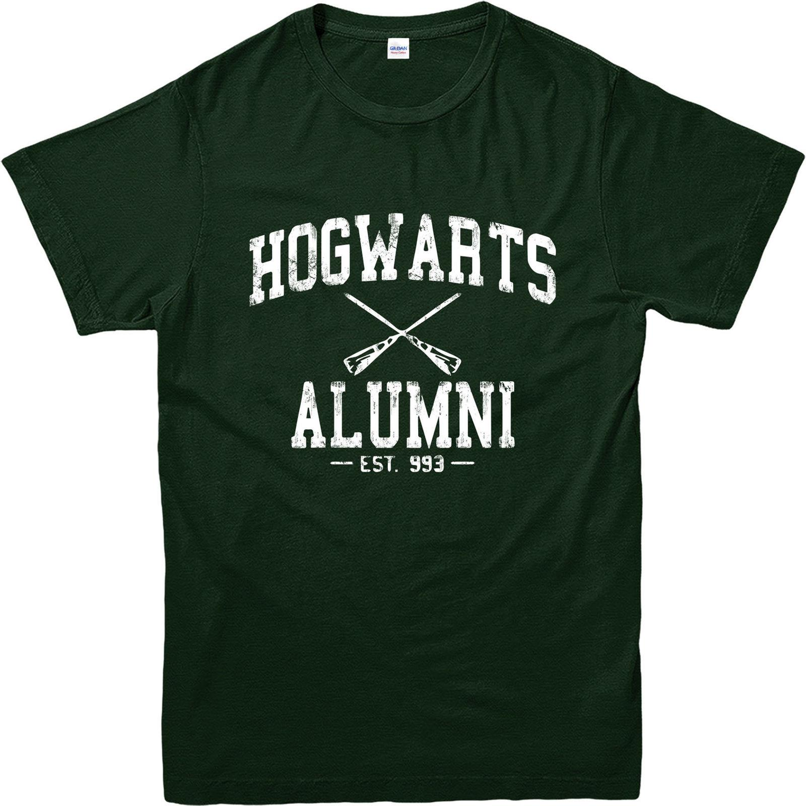 5ae7bdd6 Harry Potter T Shirt, Hogwarts Alumni T Shirt, Inspired Design Top Funny  Unisex Casual Tee Gift 24 Hour T Shirt Rude Tshirts From Apparelconnect, ...