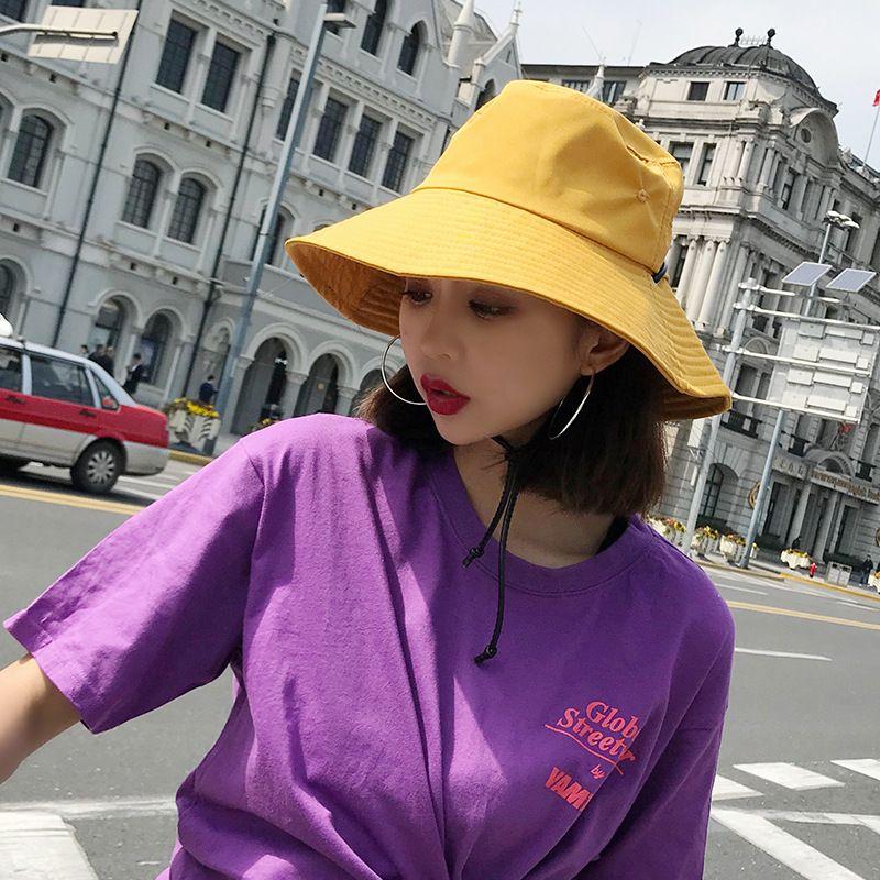HT1587 Wide Brim Waterproof Men Women Panama Bucket Hat Casual Quick Drying Summer  Sun Cap Hat Solid Plain Fishing Fisherman Fedora Hats For Men Cowgirl ... 39bc004909fe