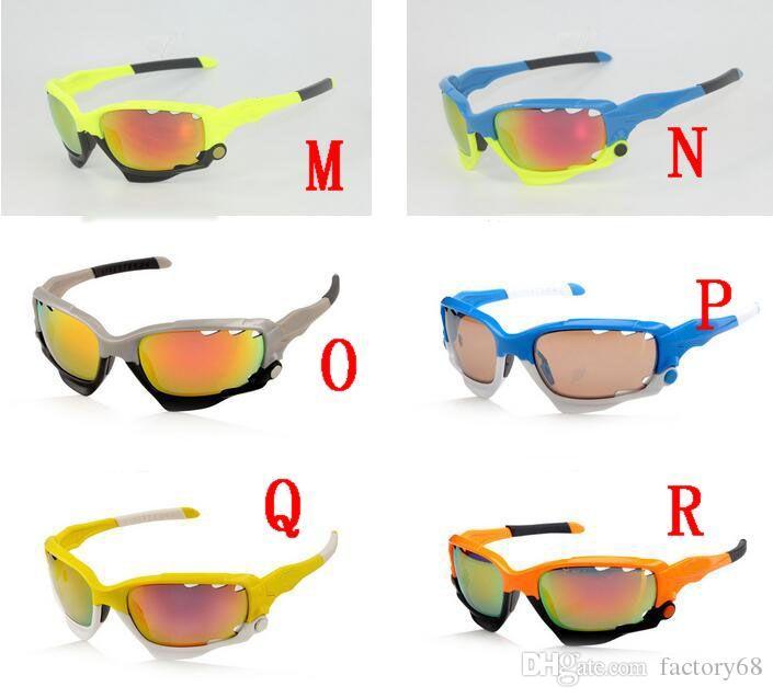 High quality 3 lens Fashion men women sunglass Mountain cycling eyewear bike glasses lens Jawb uv 400 sports sunglasses
